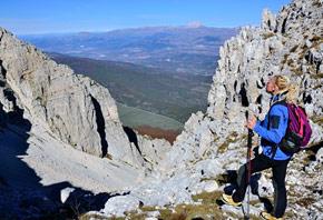 Tfrekking sul Monte Sirente - Abruzzo