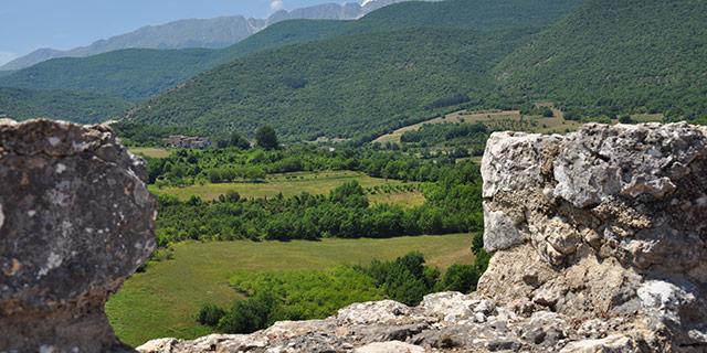 Vista dalla Torre di Goriano Valli