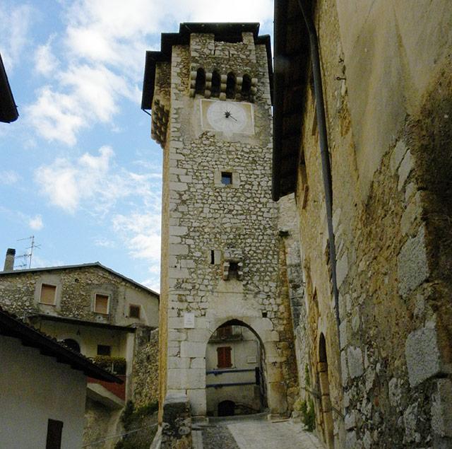 Torre dell'orologio - Fontecchio